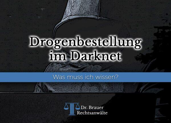 Drogenbestellung im Darknet