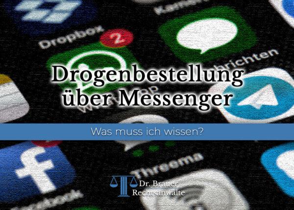 Drogenbestellung über Messenger