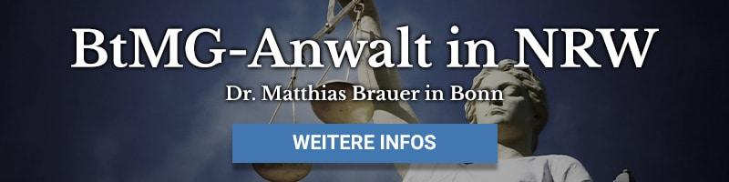 BtmG-Anwalt in Bonn - Dr. Matthias Brauer