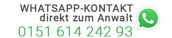Direkter Whatsapp Kontakt zum Anwalt für Strafrecht in Bonn