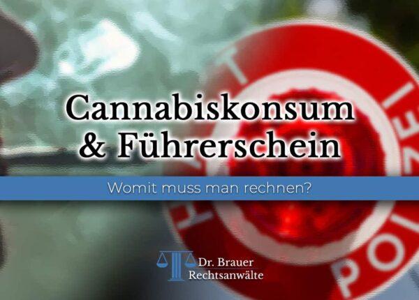 Cannabiskonsum & Führerschein