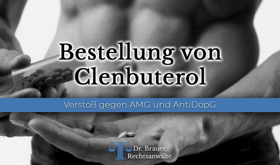Bestellung von Clenbuterol