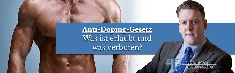 Verstoß gegen das Anti-Doping-Gesetz – Mit welcher Strafe muss man als Bodybuilder rechnen?