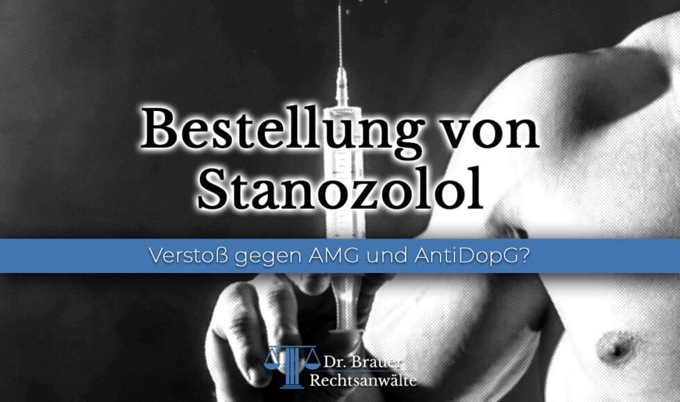 Bestellung von Stanozolol