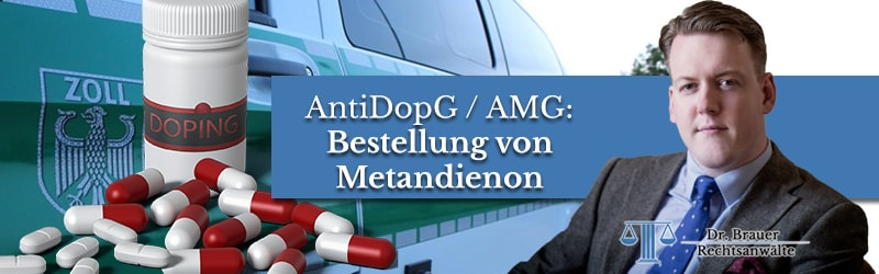 Bestellung von Erythropoetin – Verstoß gegen AMG und AntiDopG?