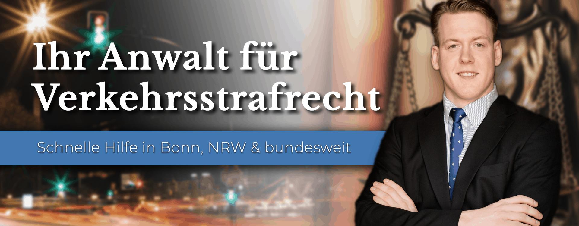 Anwalt für Verkehrsstrafrecht in Bonn, NRW und bundesweit