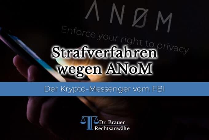 ANoM – der Krypto-Messenger vom FBI
