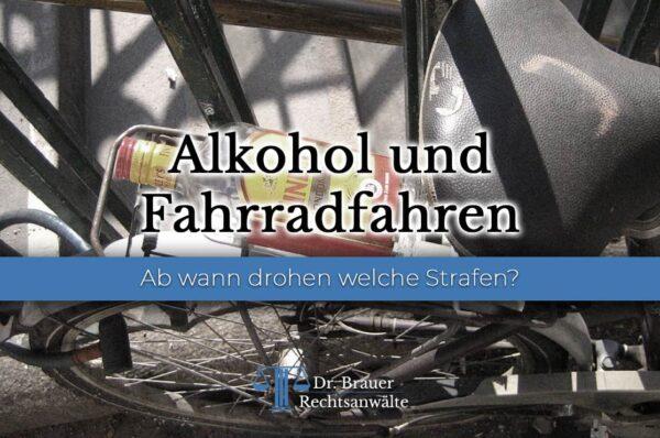 Alkohol und Fahrradfahren: Wann Geldstrafe, Führerscheinentzug und MPU drohen