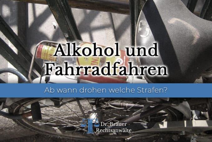 Fahrradfahren & Alkohol – Welche Strafen drohen?