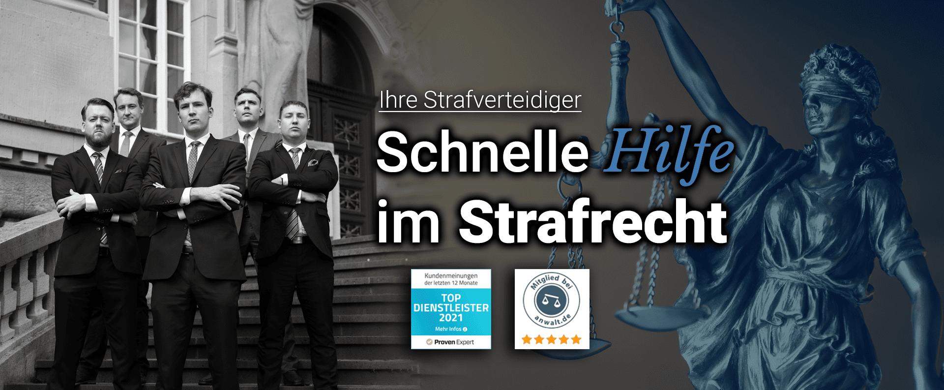 Strafverteidigung Deutschland - Fachanwalt für Strafrecht
