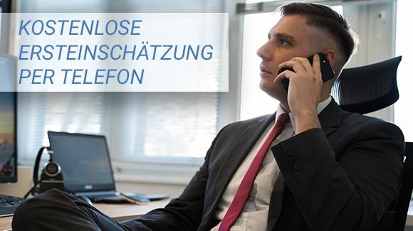 Kostenlose Ersteinschätzung per Telefon vom Rechtsanwalt