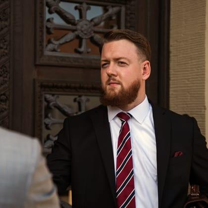Strafverteidiger Dr. Matthias Brauer vor Gericht